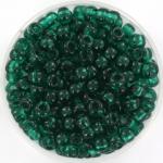 miyuki rocailles 6/0 - transparant emerald