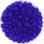 miyuki rocailles 6/0 - transparant cobalt