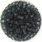 miyuki seed beads 6/0 - transparant gray
