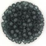 miyuki seed beads 6/0 - transparant matte gray