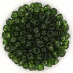 miyuki rocailles 6/0 - transparant olive