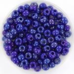 miyuki seed beads 6/0 - opaque luster cobalt