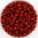 miyuki rocailles 6/0 - metallic matte brick red