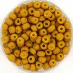 miyuki rocailles 6/0 - opaque matte mustard