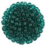 miyuki seed beads 6/0 - transparant teal