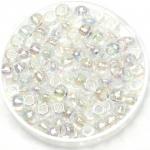 miyuki rocailles 6/0 - transparant ab crystal