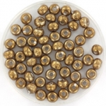 miyuki seed beads 6/0 - baroque antique brass