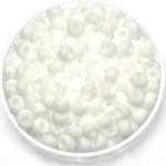 miyuki rocailles 6/0 - opaque matte white