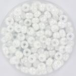 miyuki rocailles 6/0 - opaque ab white