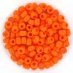 miyuki rocailles 6/0 - opaque orange