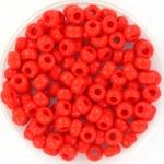 miyuki rocailles 6/0 - opaque vermilion red