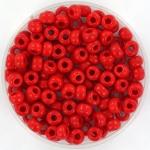 miyuki seed beads 6/0 - opaque red