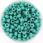 miyuki rocailles 6/0 - opaque turquoise green