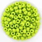 miyuki seed beads 6/0 - opaque matte chartreuse