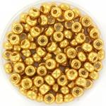 miyuki seed beads 6/0 - duracoat galvanized gold
