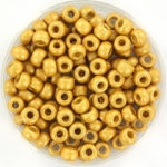 miyuki rocailles 6/0 - duracoat galvanized matte gold