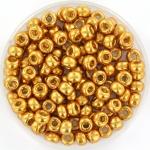 miyuki rocailles 6/0 - duracoat galvanized yellow gold