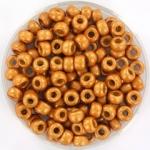 miyuki seed beads 6/0 - duracoat galvanized matte yellow gold