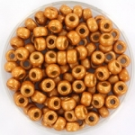 miyuki rocailles 6/0 - duracoat galvanized matte yellow gold