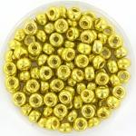 miyuki seed beads 6/0 - duracoat galvanized zest