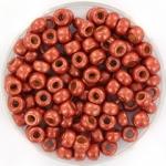 miyuki rocailles 6/0 - duracoat galvanized matte berry