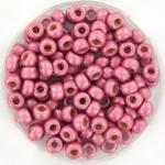 miyuki rocailles 6/0 - duracoat galvanized matte hot pink