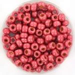 miyuki rocailles 6/0 - duracoat galvanized matte light cranberry