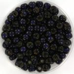 miyuki rocailles 6/0 - duracoat silverlined dyed dark navy blue