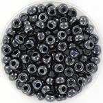miyuki seed beads 6/0 - metallic gunmetal