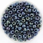 miyuki rocailles 6/0 - metallic iris gunmetal