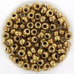 miyuki seed beads 6/0 - metallic dark bronze
