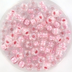 miyuki rocailles 6/0 - pearlized effect pink