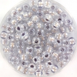 miyuki rocailles 6/0 - pearlized effect silver