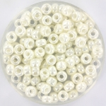 miyuki rocailles 6/0 - ceylon ivory pearl