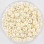 miyuki seed beads 6/0 - ceylon antique ivory pearl