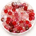miyuki seed beads 6/0 - mix valentine