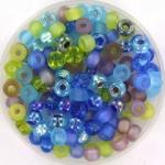 miyuki seed beads 6/0 - mix jeweltone