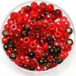 miyuki seed beads 6/0 - mix magma