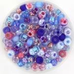 miyuki rocailles 6/0 - mix berries