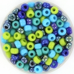miyuki rocailles 6/0 - blue green