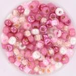 miyuki rocailles 6/0 - pink party