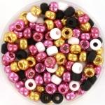 miyuki rocailles 6/0 - pink glitter
