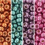 miyuki seed beads 6/0 - metallic rainbow
