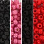 miyuki seed beads 6/0 - valentine
