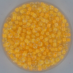 miyuki seed beads 8/0 - luminous orange