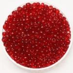 miyuki rocailles 8/0 - transparant ruby
