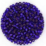 miyuki rocailles 8/0 - silverlined dyed dark violet