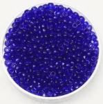 miyuki rocailles 8/0 - transparant cobalt