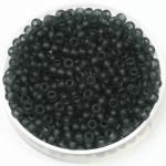 miyuki seed beads 8/0 - transparant matte gray