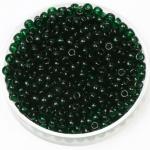 miyuki rocailles 8/0 - transparant dark  emerald